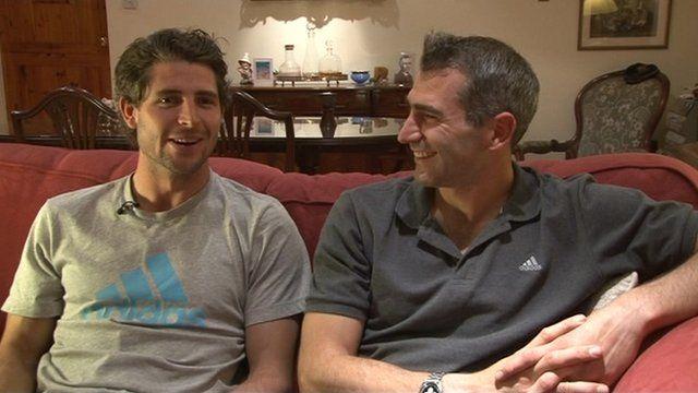 Simon and Richard Mantell