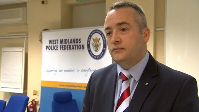 Andy Adams, Staffordshire Police Federation