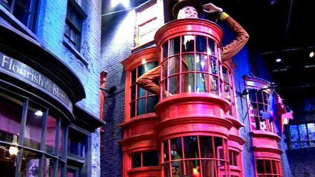 Harry Potter studio in Hertfordshire