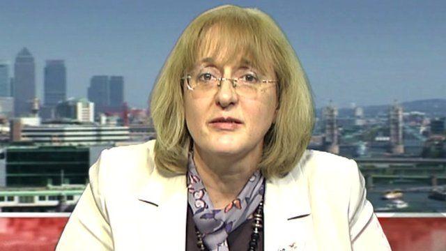 Diana Holland, assistant General Secretary of Unite