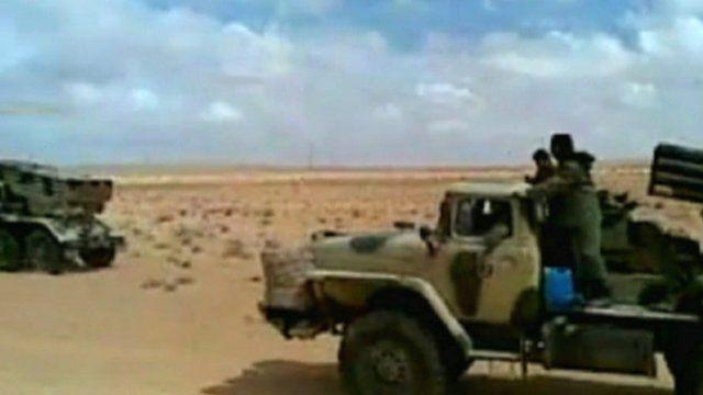 Armed Tuareg rebels