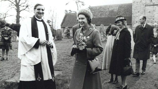 The Queen visiting Uckfield