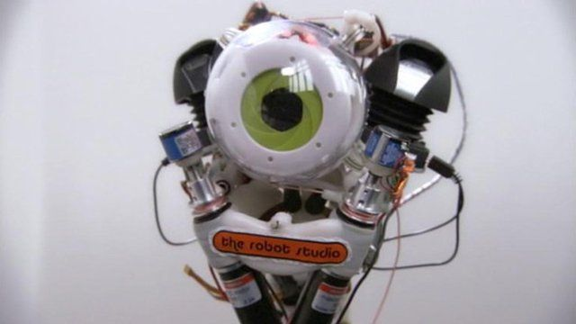 the robot with a human skeleton and movements - bbc news, Skeleton