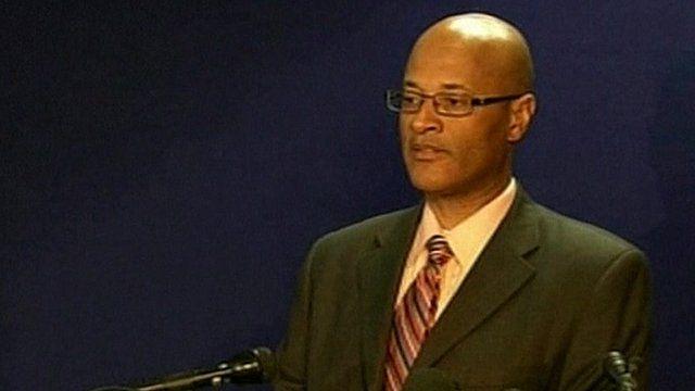 Oakland Police chief Howard Jordan