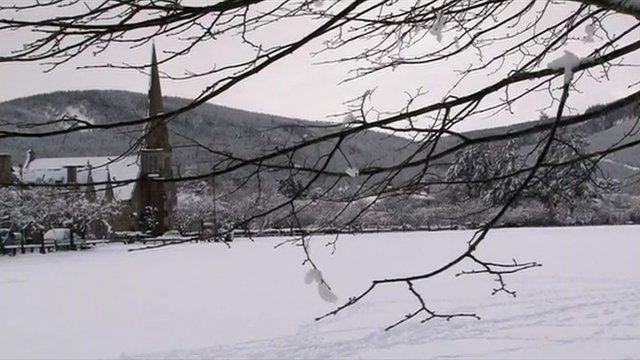Snow in Aberdeenshire