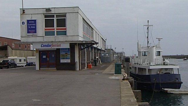 Weymouth ferry berth