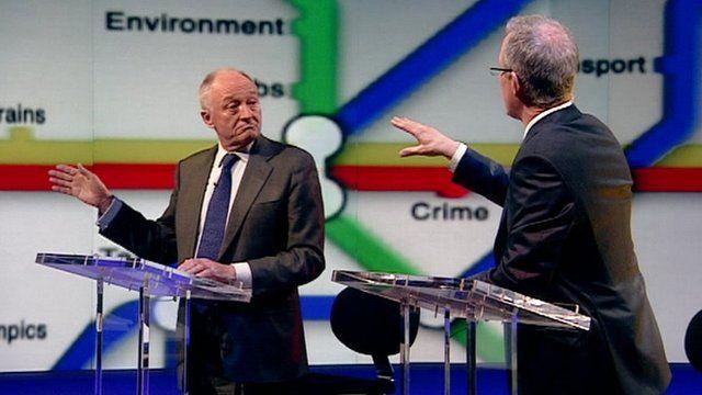Ken Livingstone and Brian Paddick