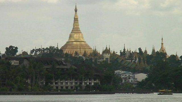 Pagoda in Burma