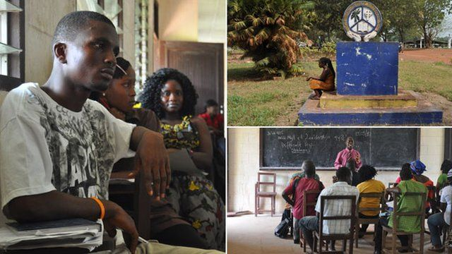 Images from Cuttington University, Liberia