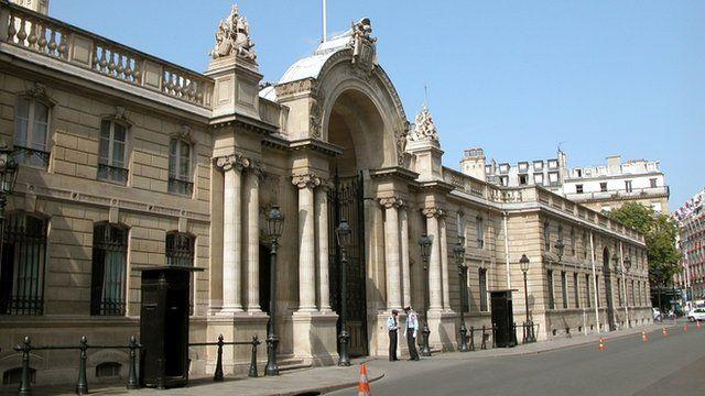The Elysee Palace