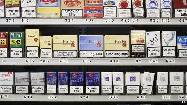 Tobacco display