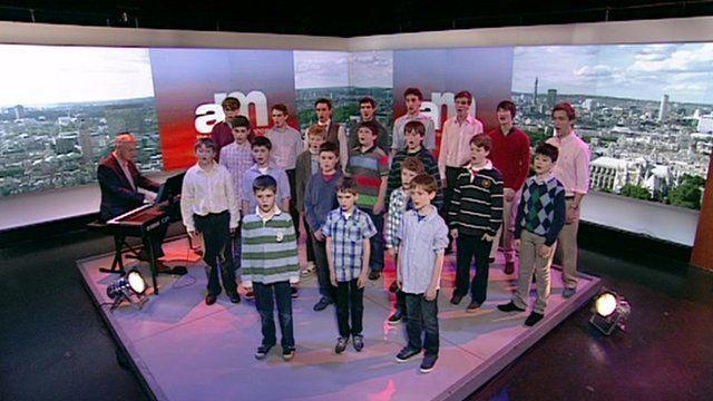 New College Oxford choir