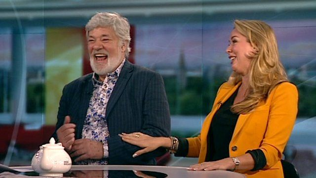 Matthew Kelly and Claire Sweeney