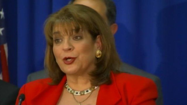 Prosecutor Angela Corey announces murder charges against George Zimmerman 11 April 2012