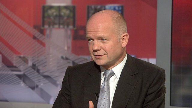 William Hague speaks on Syria