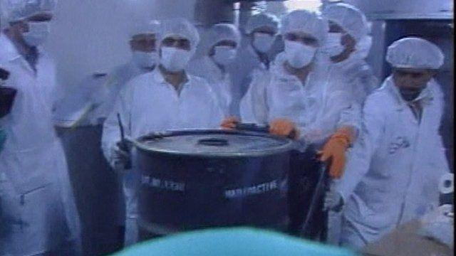 Iranian nuclear facility - file photograph