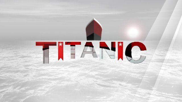 Graphic of the Titanic