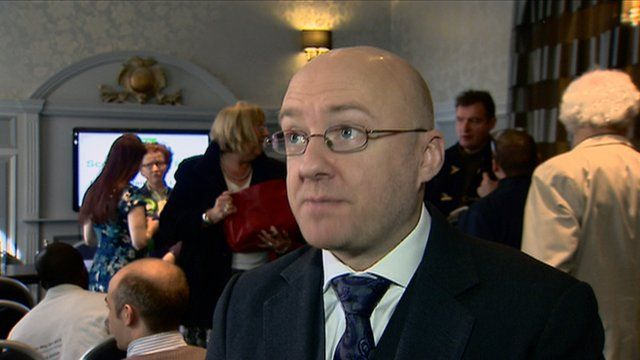 Patrick Harvie launches the Scottish Green Party's council election campaign