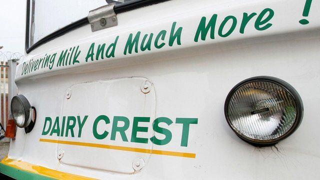 Dairy Crest van