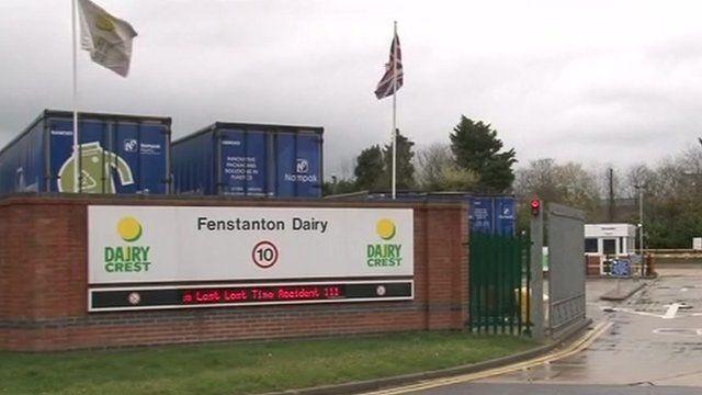 Dairy Crest's Fenstanton plant