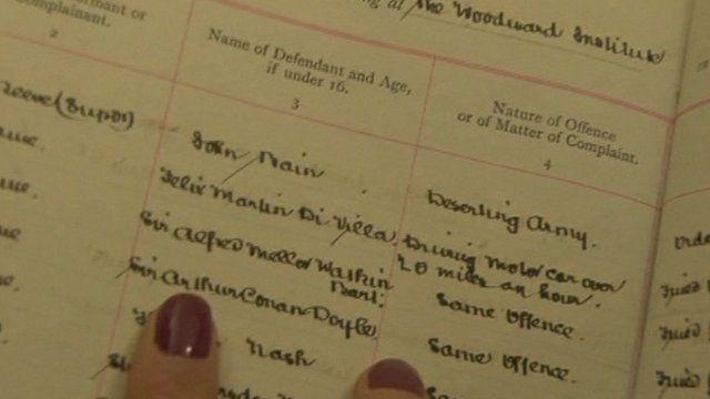 Sir Arthur Conan Doyle entry