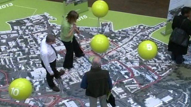 Northampton walkthrough map