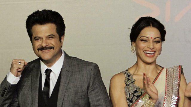 Bollywood actors Anil Kapoor and Bipasha Basu