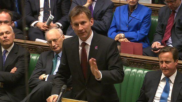 Culture Secretary Jeremy Hunt MP