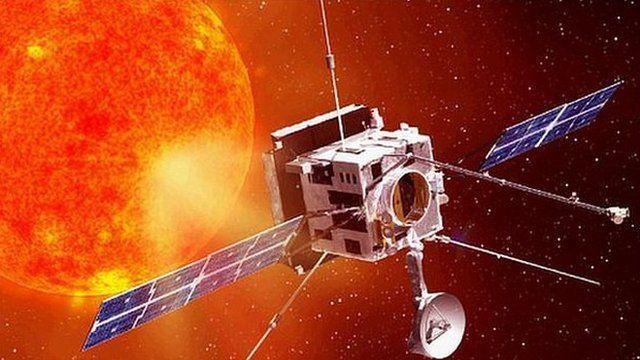 Artist impression of the Solar Orbiter (Astrium)