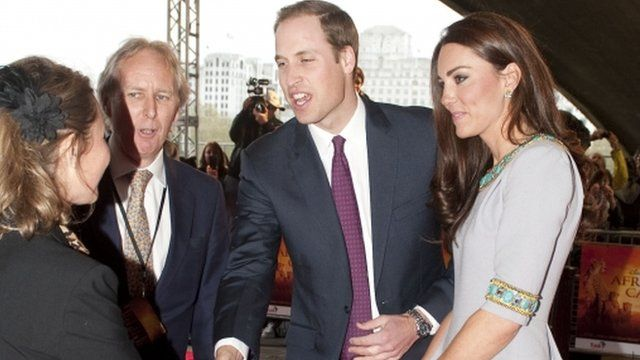 Prince William The Duke of Cambridge, Patron of Tusk Trust, and Catherine