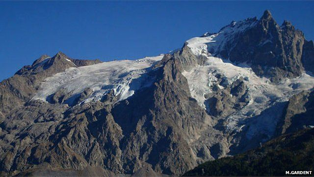 Glacier du Tabuchet (Ecrins massif)