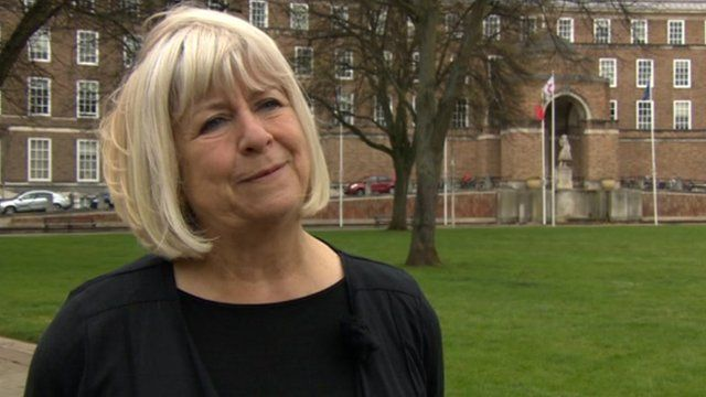 The leader of Bristol City Council, Barbara Janke, announces she is to step down.
