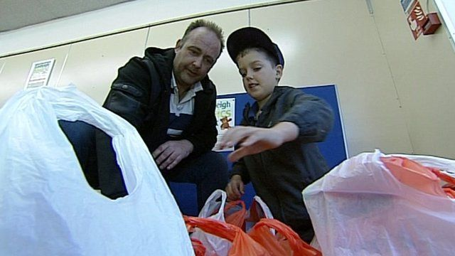 Eastleigh food bank has also seen a rise in demand