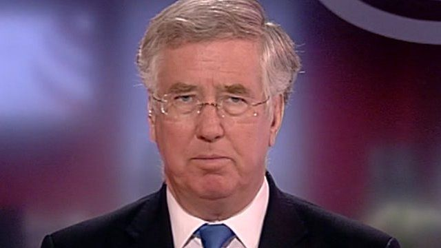 Deputy chairman of the Conservative Party Michael Fallon