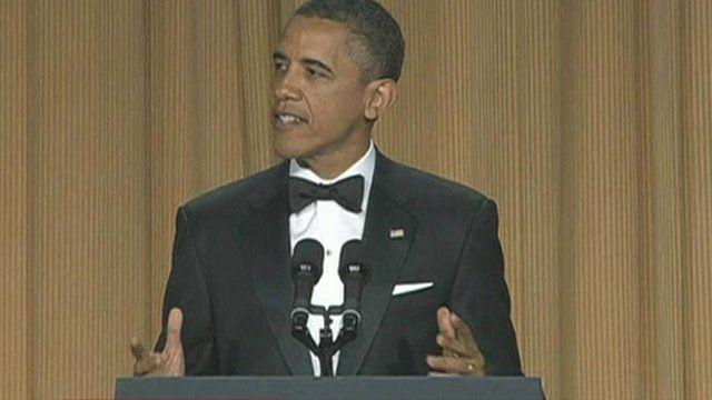 President Obama at the White House Correspondents' Association Dinner