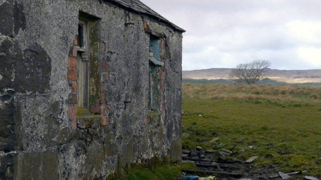 Derelict house on the Isle of Islay
