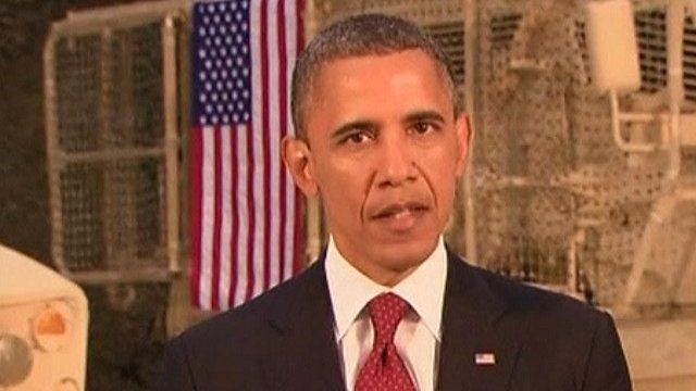 US President Obama in Afghanistan