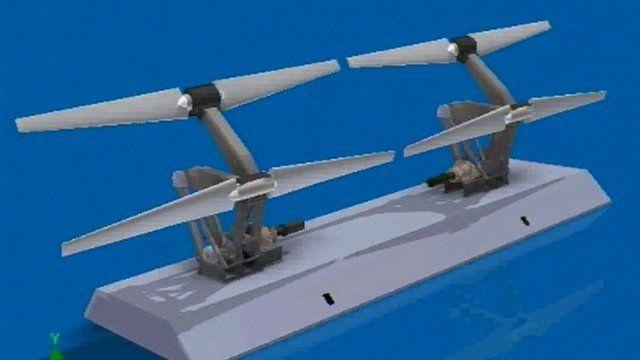 Pulse Tidal's sea bed generator
