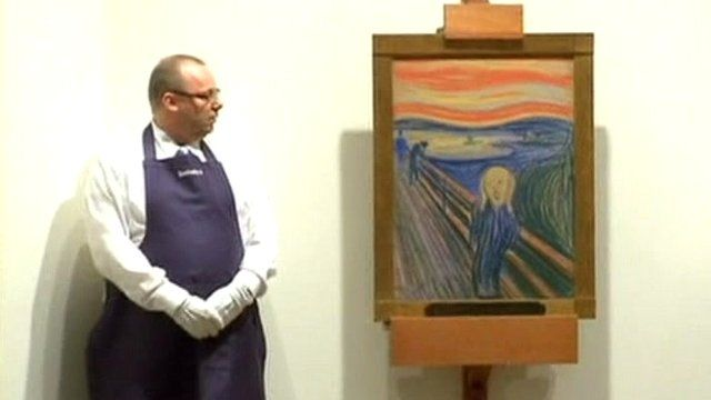 Norwegian expressionist Edvard Munch's 'The Scream'