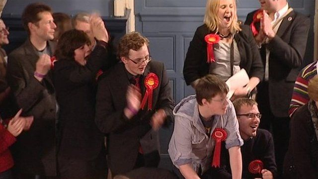 Labour celebrate gains in Oxford