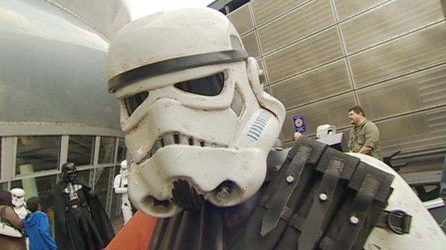 Stormtrooper at the National Space Centre