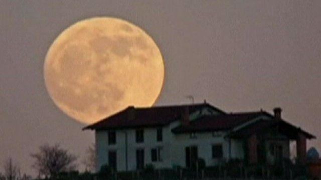 Image of the 'supermoon'