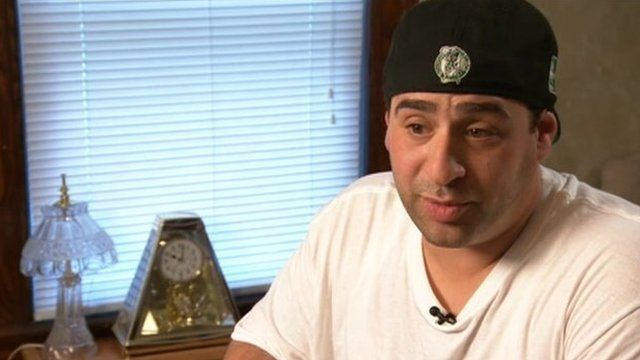 Richard Elassar, a recovering prescription drug addict, who robbed a bank to feed his habit