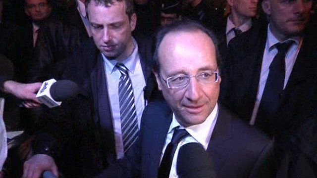 French president-elect Francois Hollande