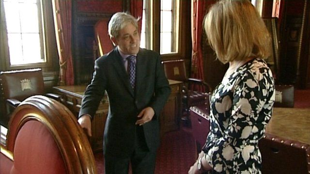 Speaker of the House John Bercow