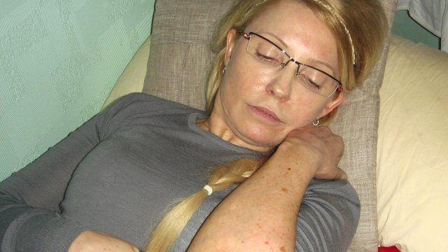 Ukraine's jailed opposition leader and former PM Yulia Tymoshenko