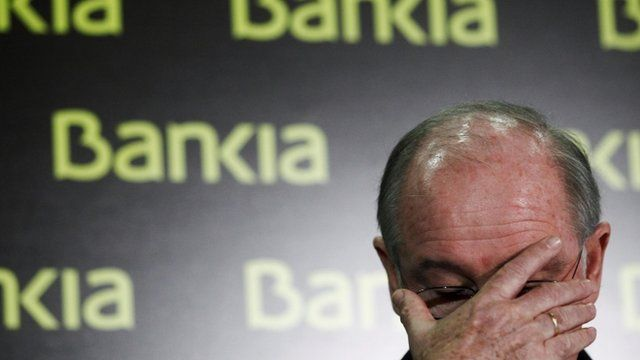 President of Spanish bank Bankia Rodrigo Rato stepped down on May 7, 2012 as chairman