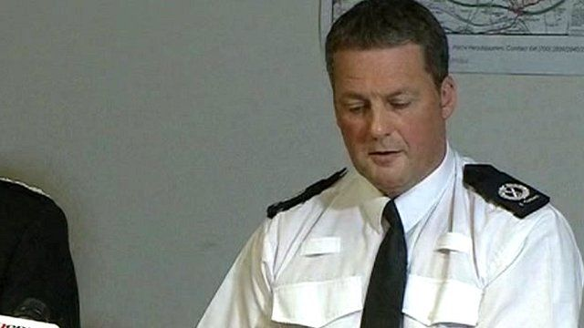 Assistant Chief Constable Steve Cotterill Derbyshire Police