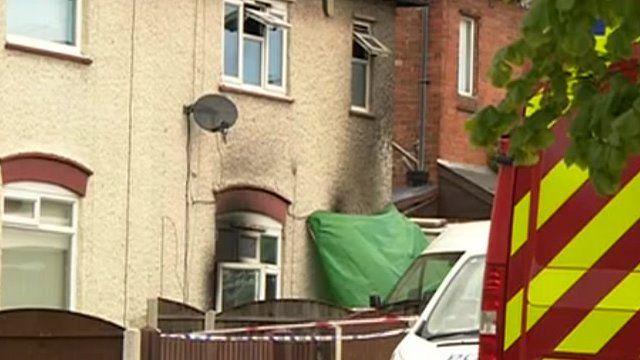 The children died in their house in Derby