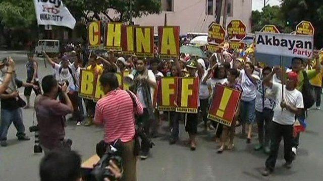 Protests in Manila